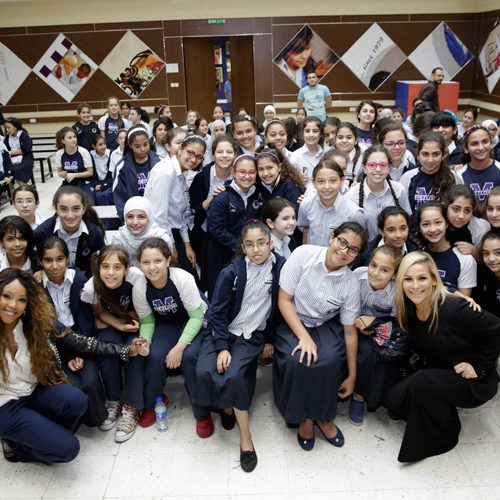 Al Mawakeb School Hosts WWE Superstars for Collective Fight Against Bullying