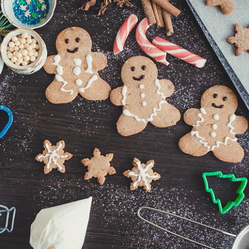 Kids festive gingerbread workshop in Dubai