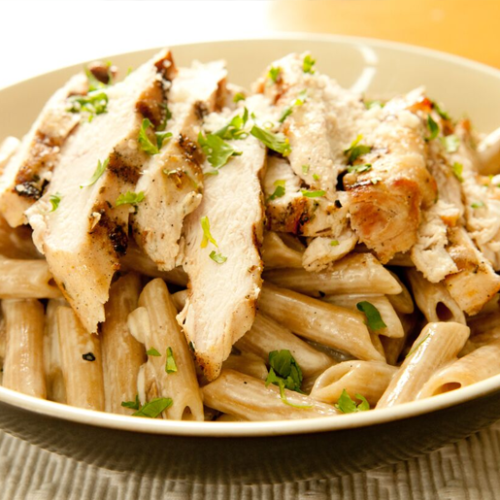 Healthy family recipe: Mixed vegetable and chicken pasta