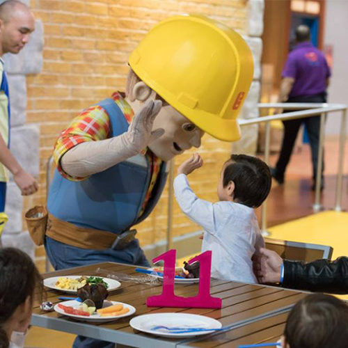 Have Breakfast with Barney, Bob the Builder and Angelina Ballerina