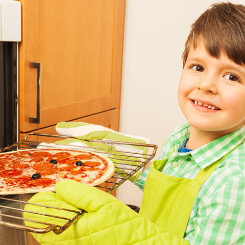Tips on teaching kids to cook