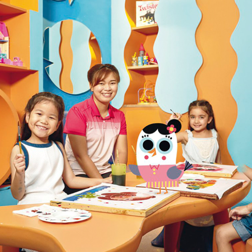 The fab new Movenpick kids' club