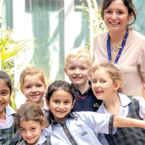 We talk exclusively to Amy Lenton from Kings' School Al Barsha
